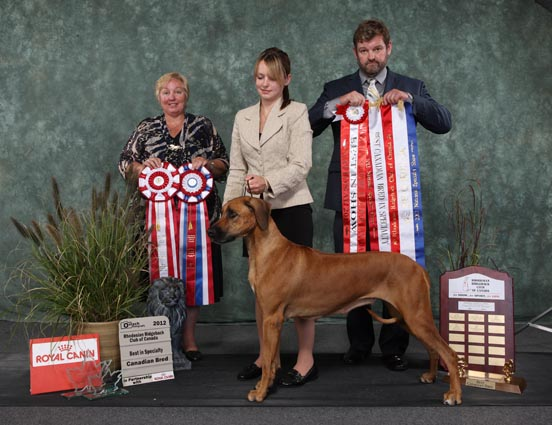 Rhodesian Ridgeback Club of Canada